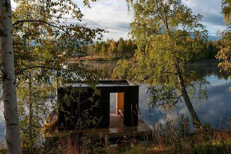 Floating Platform Saunas