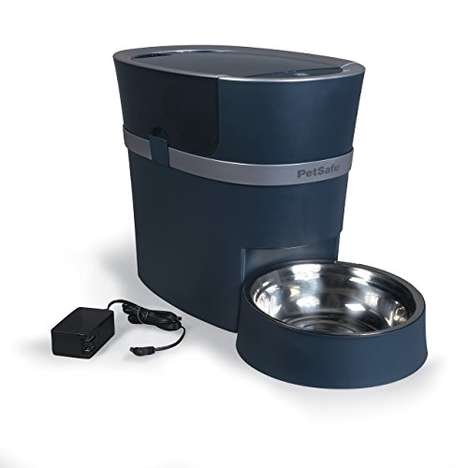 Portion Control Pet Feeders - The PetSafe Smart Automated Pet Feeder Tends to Pets When You're Away