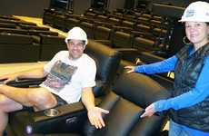 Luxury Cinema Seating - Simcoe County's Alliston Will Feature a New, Luxury Theatre Experience