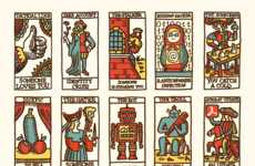 Social Media-Inspired Tarot Cards