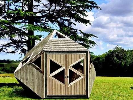 Flatpack Geometric Garden Sheds