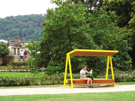 WiFi-Enabled Solar Benches