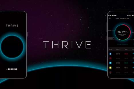 Disconnecting Phone Apps - Samsung's 'Thrive' Will Block Selected Social Sites to Promote Balance