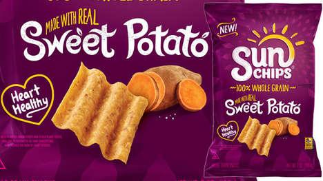 Seasonal Vegetable-Infused Chips