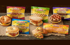 Premium Convenience Store Breakfasts - The Johnsonville Breakfast Sandwich Collection is Fresh