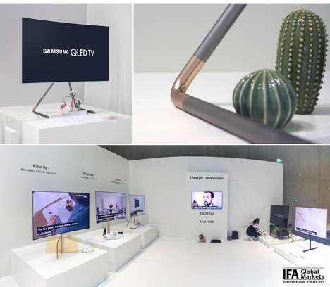 Sleek Adjustable TV Stands