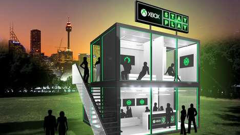 Gamer Pop-Up Hotels - Xbox's 'Stay N' Play' Provides Gamer-Specific Hotel Suites