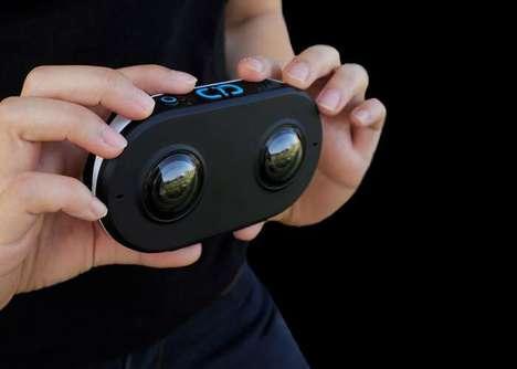 Athlete Virtual Reality Cameras