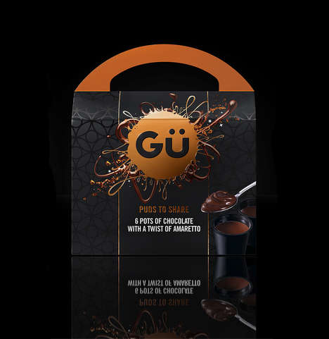 "Shareable Ganache Sets - Gü Puds' Created a Boxed ""Party Pack"" of Ganache Desserts"