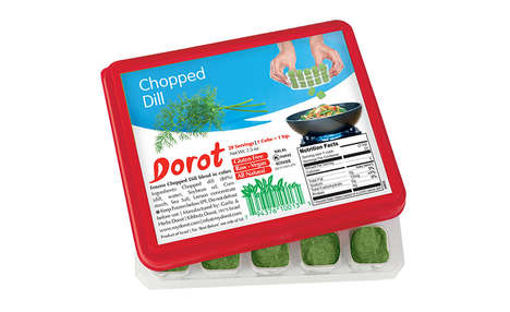 Simple Frozen Herb Cubes - The Dorot's Flash-Frozen Flavor Cubes Add Flavor and Eliminate Waste