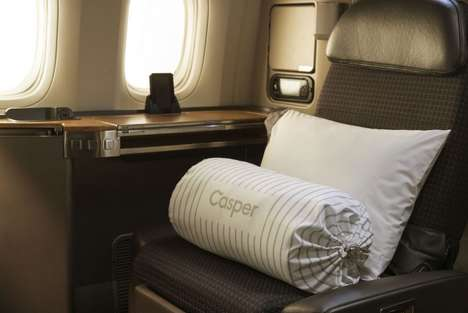 Top 35 Travel Ideas in November - From In-Flight Pillow Menus to Premium Aircraft Dinnerware