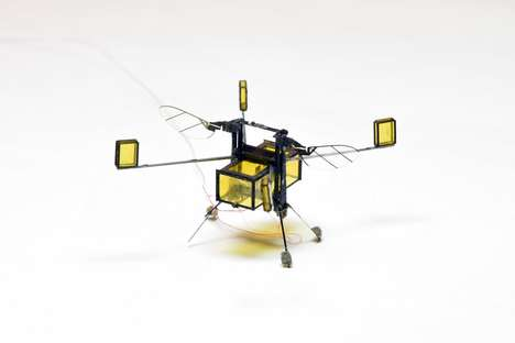 Hybrid Air-Water Robots - Harvard's RoboBee Microrobot Dives Between the Air and the Water