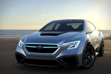 Boxy Outback Performance Cars - The Subaru VIZIV Performance Concept will Release in 2020