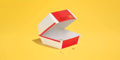 Minimal Fast Food Ads