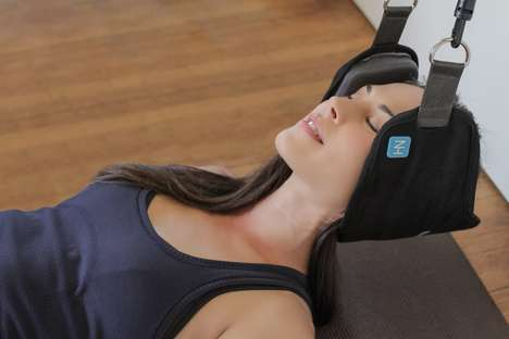 Pain-Eliminating Head Hammocks - The 'Neck Hammock' Provides Professional Pain Relief from Home