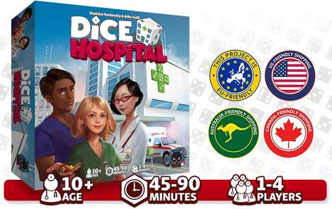 Hospital-Based Dice Games