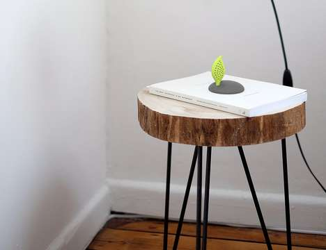 Discreet Naturalistic Air Monitors - The iBebot 'AirQuality' Air Monitor Keeps an Eye on Indoor Air