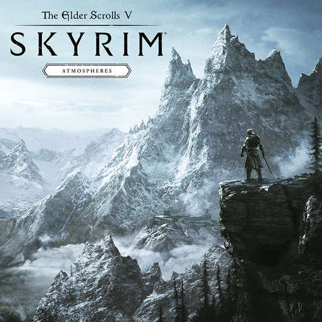 Ambient Video Game Records - The Elder Scrolls V: Skyrim 'Atmospheres' LP is Limited-Edition