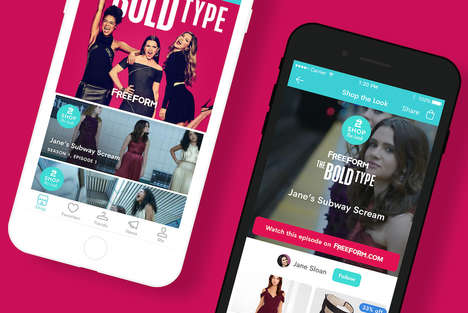 TV Series Outfit Retailers - The Dote App Lets Consumers Shop Outfits as Seen on 'The Bold Type'