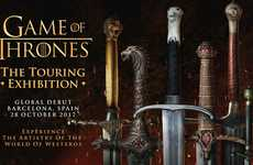 Fantasy Series Showcases - 'Game of Thrones: The Touring Exhibition' Shows off the Popular Series
