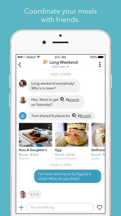Social Dining Recommendation Apps