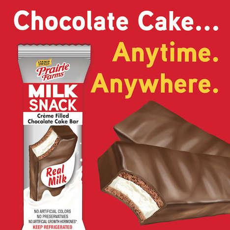 Milk-Infused Snack Cakes