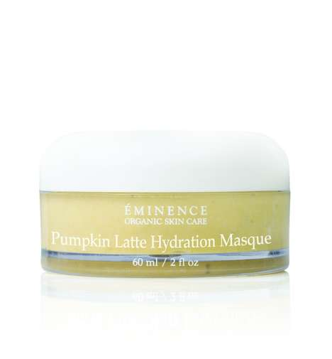 Latte-Inspired Face Masks - Eminence's Pumpkin Latte Hydration Masque Contains Real Pumpkin Puree