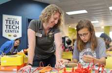 Branded Teen Tech Centers - Best Buy Hopes to Expand on Its 11 Existing Teen Tech Centers