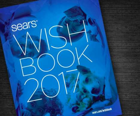 Digital Christmas Catalogs - The Sears Wish Book Will Be Revived in Print, Online and Via Sears' App