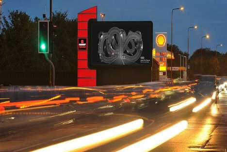 Altering Billboard Advertisements - Audi's New Ads Will Change Its Content Based on the Weather