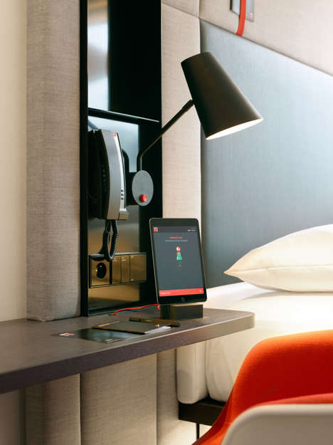 Touch-Controlled Hotel Suites