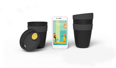 Returnable Coffee Cup Systems - Cup Club Lets You Return Reusable Coffee Cups and Lids to Any Cafe