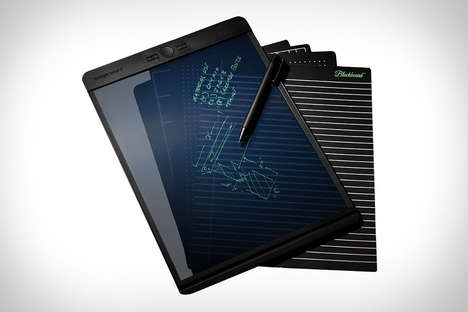 Hybrid Electronic Paper Tablets - The 'Blackboard' Electronic Writing Tool Lets You Write Naturally