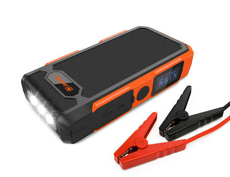 Car-Starting Power Banks - The Jackery New Spark Jumpstarts Cars and Charges Devices