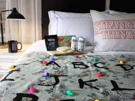 TV-Themed Hotel Packages - The Gregory Hotel Offers an 'Ex-stream-ly Cozy Package'