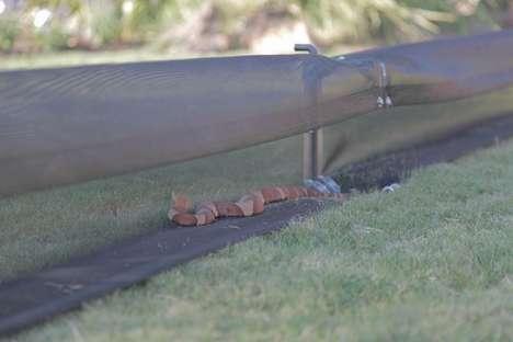 Serpentine Intruder Fences