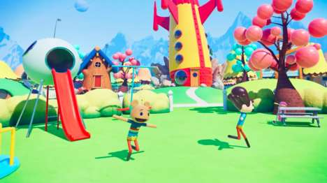Kid-Friendly VR Cartoons - 'Morgan Lives in a Rocket House in VR' Offers New Ways to Watch