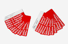 Artist-Inspired Metro Passes - These Limited-Edition MetroCards Were Designed by Barbara Kruger