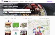 Vegan Restaurant Aggregators - Happy Cow Helps Users Find Vegan and Vegetarian Restaurants Anywhere