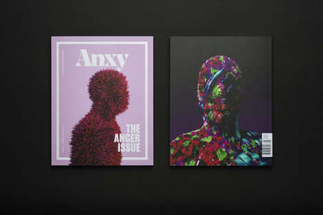 Mental Health Magazines - 'Anxy' Covers Topics Like Anxiety, Depression, Anger, Trauma and Shame