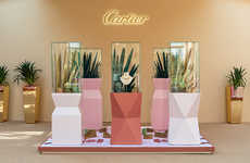 Desert Accessory Popups - Cactus de Cartier's Showcase Took Place at Kuwait's Al Shaheed Park