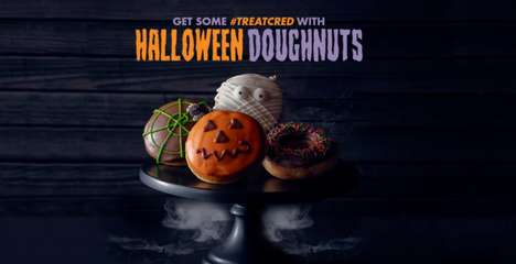 Halloween Doughnut Promotions - This Halloween, Krispe Kreme is Giving Away Free Doughnuts
