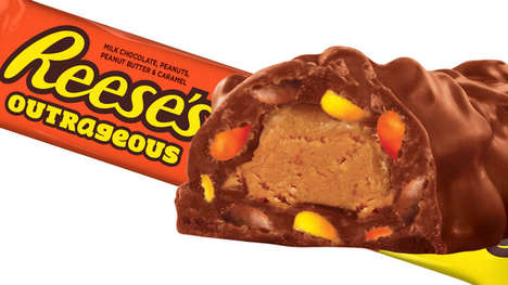 Crunchy Candy-Packed Chocolates - The Reese's Outrageous Bar will be Available Starting in May 2018