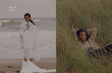 Seaside Streetwear Editorials - Micaiah Carter Captures The Ones 2 Watch 'I Get Lonely Too' Story