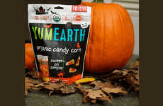 Organic Free-From Halloween Candies - The YumEarth Organic Candy Corn is Vegan and Gluten-Free