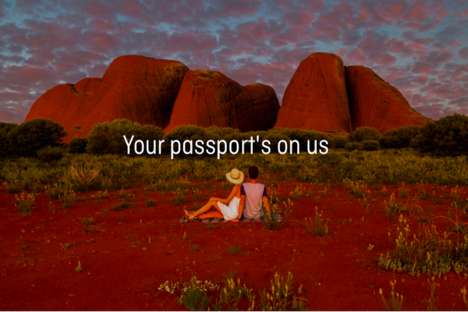 Passport-Purchasing Promotions - Quantas Will Buy Americans a Passport If They Travel to Australia