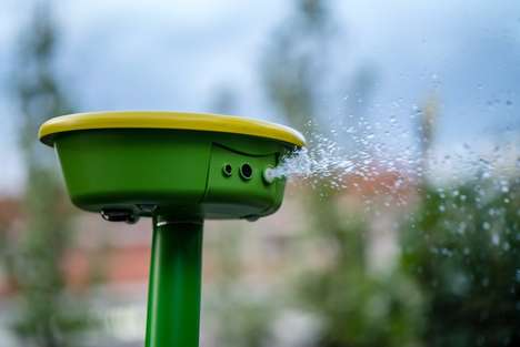 App-Enabled Garden Robots - GardenSpace Automatically Waters and Monitors One's Garden