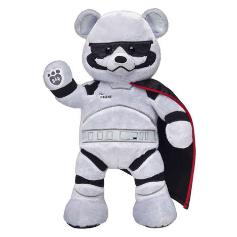 Custom Sci-Fi Plush Toys - The Build-a-Bear Star Wars: The Last Jedi Line Features Eight Characters