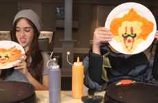 Halloween Pancake Art Challenges - This Pancake Art Challenge Comes in a Special Halloween Edition