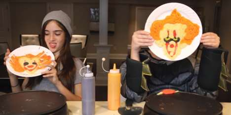 Halloween Pancake Art Challenges